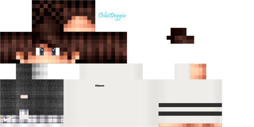 Minecraft Pe Skin Template Image Collections Template