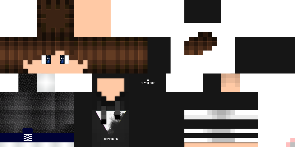 HD Skins For Minecraft - Minecraft skins download fur pc